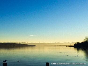 Le lac de Starnberg, Starnbergersee, au sud de Munich est particulièrement romantique.