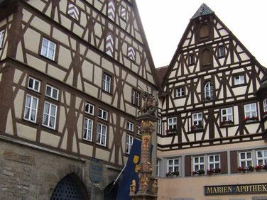 La petite ville de Rothenburg ob der Tauber est l´une des plus touristiques de Bavière.