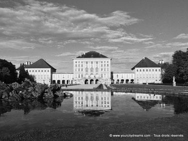 visiter le château et le parc de Nymphenburg, résidence d´été des princes électeurs et des rois de Bavière