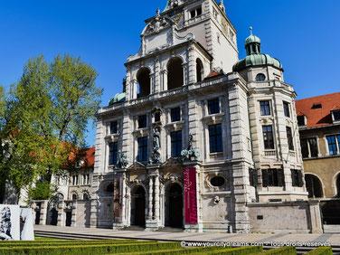 Le musée bayerisches Nationalmuseum de Munich expose de nombreuses collections d´art ancien.