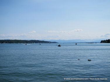 Le grand lac de Starnberg est idéal pour les familles. Ses plages sont très appréciées par les enfants et leurs parents.