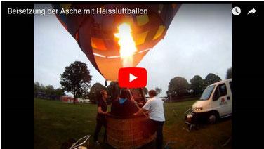Bestattungsmesse Beisetzung der Asche mit Heißluftballon lexikon-bestattungen