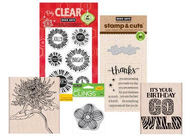 UK Stockists Hero Arts Stamps