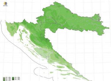 Влажность воздуха в Хорватии