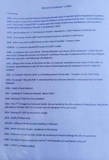 ツアー説明資料より(キャバノン建設の歴史)