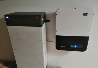 BYD Battery Box Premium HVM 11 mit SMA Sunny Boy Storage 5.0