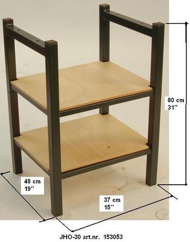 Untergestell mit Einlegeböden für Druckpresse JH 30 / 40 / 50