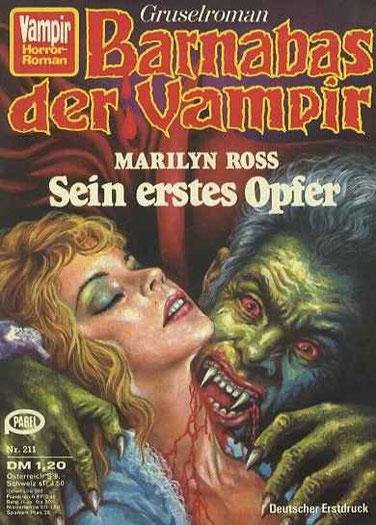 Vampir Horror Roman 211(Barnabas der Vampir 2)