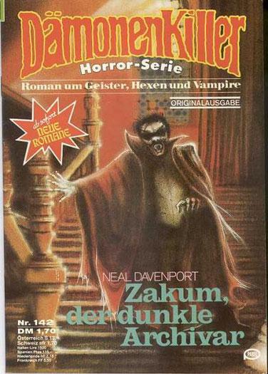 Dämonenkiller 2.Aufl.Band 142 (neuer Roman)