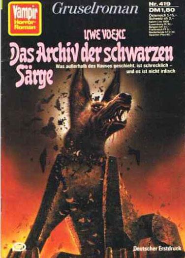 (Der Henker 1)Vampir Horror Roman 419