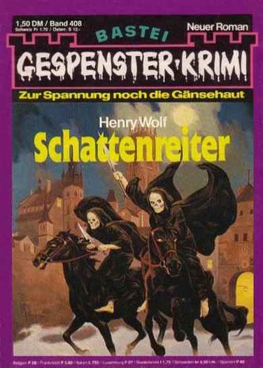 (Raven 1)Gespenster Krimi 408
