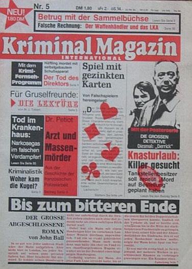 Kriminal Magazin 5/76
