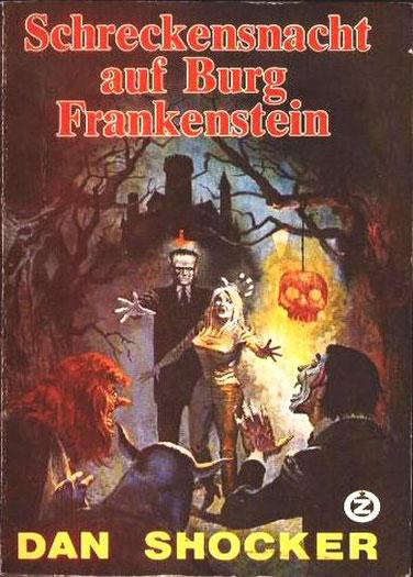 Zauberkreis TB 62 (Monster Frankenstein 1)
