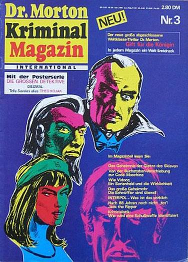 Dr.Morton Kriminal Magazin 3/76