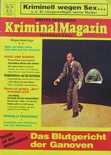 Erstes Deutsches Kriminal Magazin 5/77