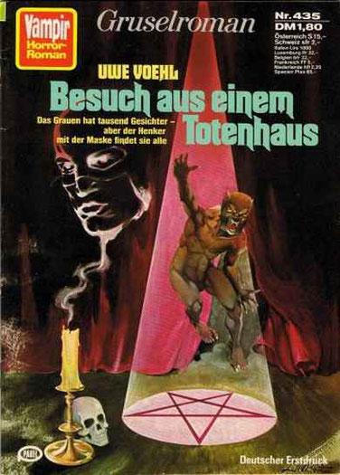 (Der Henker 2)Vampir Horror Roman 435