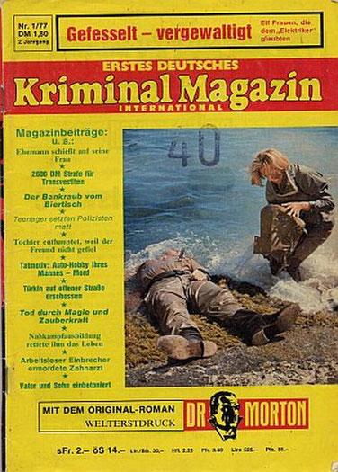 Erstes Deutsches Kriminal Magazin 1/77