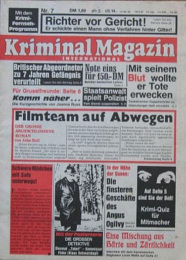 Kriminal Magazin 7/76
