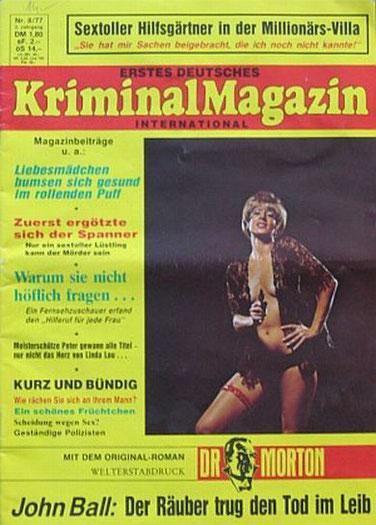 Erstes Deutsches Kriminal Magazin 8/77