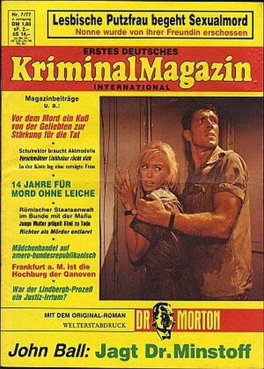 Erstes Deutsches Kriminal Magazin 7/77