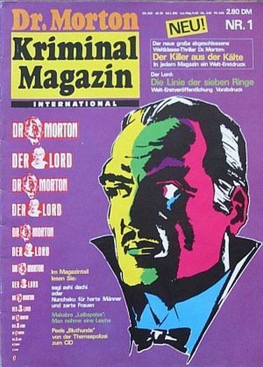 Dr.Morton Kriminal Magazin 1/76