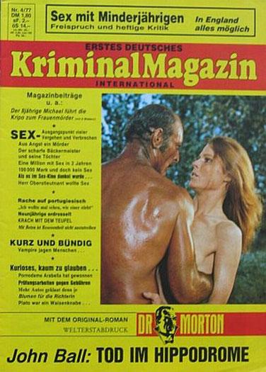 Erstes Deutsches Kriminal Magazin 4/77