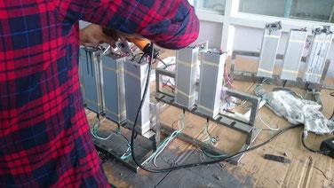 Herstellung von IP67 Netzteilen