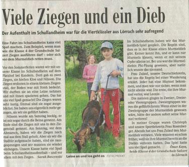 Badische Zeitung  Sept 2008