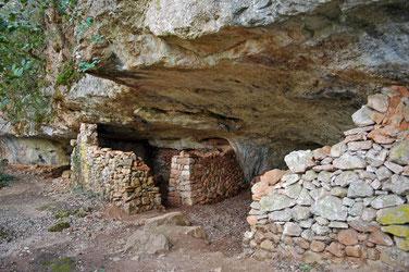 grotte Saint Michel, maintes et maintes fois réaménagée