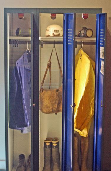 l'équipement du mineur musée des Gueules Rouges Tourves