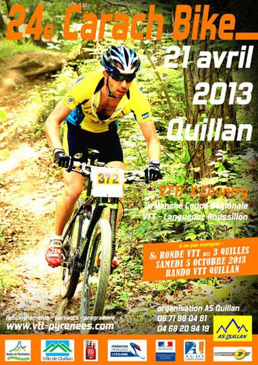 Carach Bike 2013 - Espace VTT Aude en Pyrénées