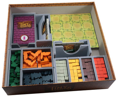 folded space insert organizer tiny towns villagers fortune tiny trees