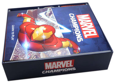 folded space insert organizer marvel champions the card game