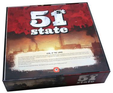 folded space insert organizer 51st state master set