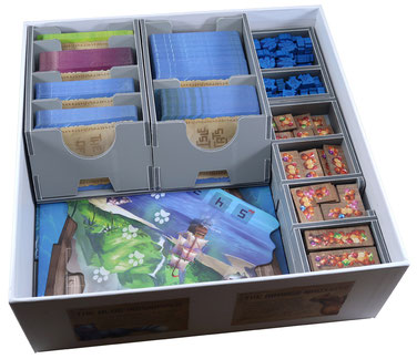 folded space insert organizer  The Isle of Cats