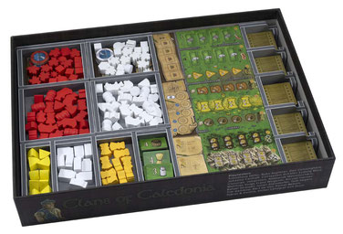 folded space insert organizer clans of caledonia