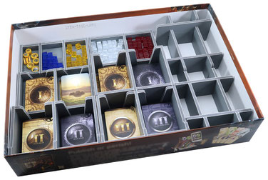 folded space insert organizer through the ages