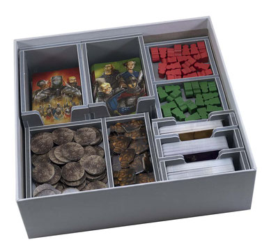 folded space insert organizer paladins of the west kingdom