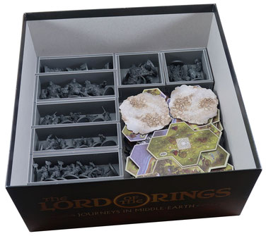 folded space insert organizer journeys in Middle Earth