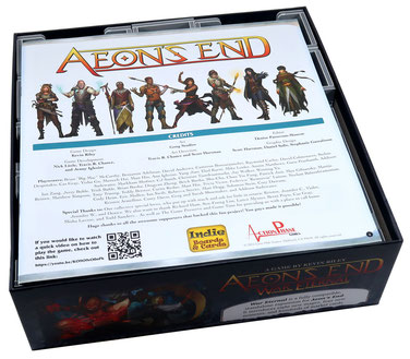 folded space insert organizer aeon's end war eternal the new age