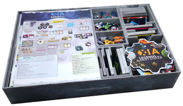 folded space insert organizer xia legends of a drift system