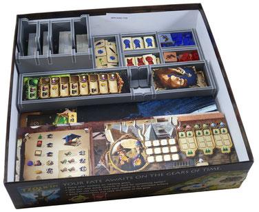 folded space insert organizer alchemists the king's golem