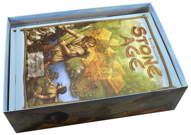 folded space insert organizer stone age expansion