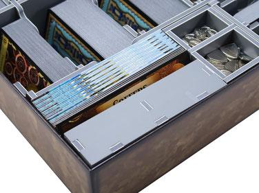 folded space insert organizer dominion