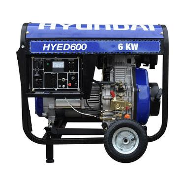 Hyundai | Generadores | Generador HYED600