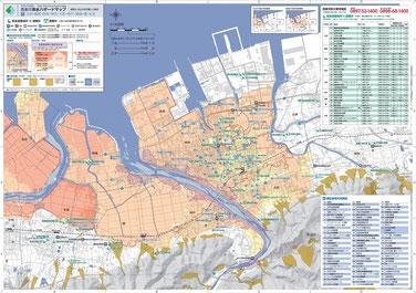 地図(神戸・禎瑞・橘・氷見)