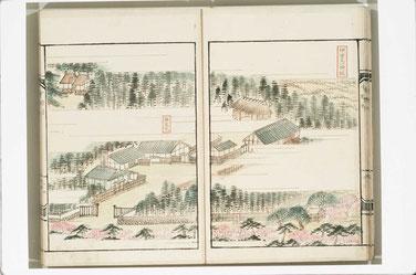 西條誌|伊曽乃神社、馬場、神主宅、御装束殿