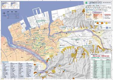 地図(玉津・飯岡・西条・神拝・大町)
