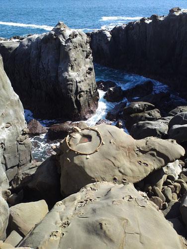 鵜戸神宮にある亀岩の写真