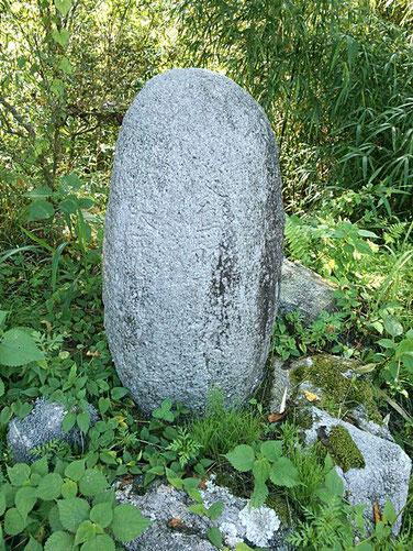 後鳥羽神社入口の石碑の写真